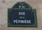 rue de la pépinière