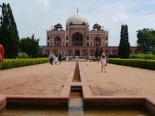 Humayun's tomb in its setting