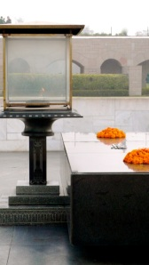 Two memorials for the Mahatma