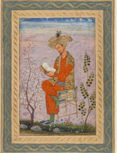 Idealised image of Babur
